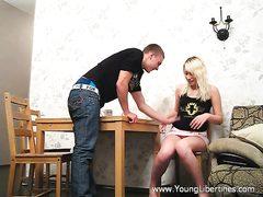 Blondie doll gets banged