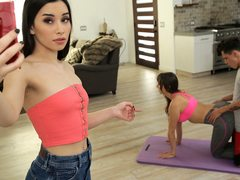 Mommy And Step Son-In-Law Do Yoga Together - S12:E4